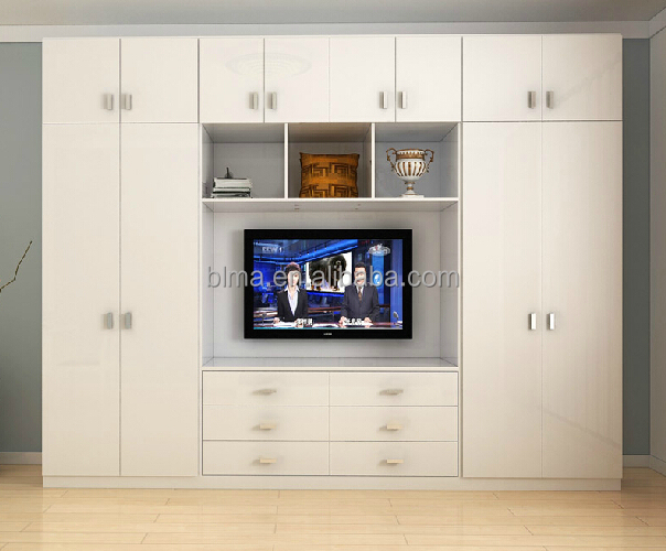 Wardrobe with tv cabinet buy wardrobe with tv cabinet for Meuble tv avec armoire