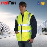 wholesale waterproof high visibility safety shark skin jacket