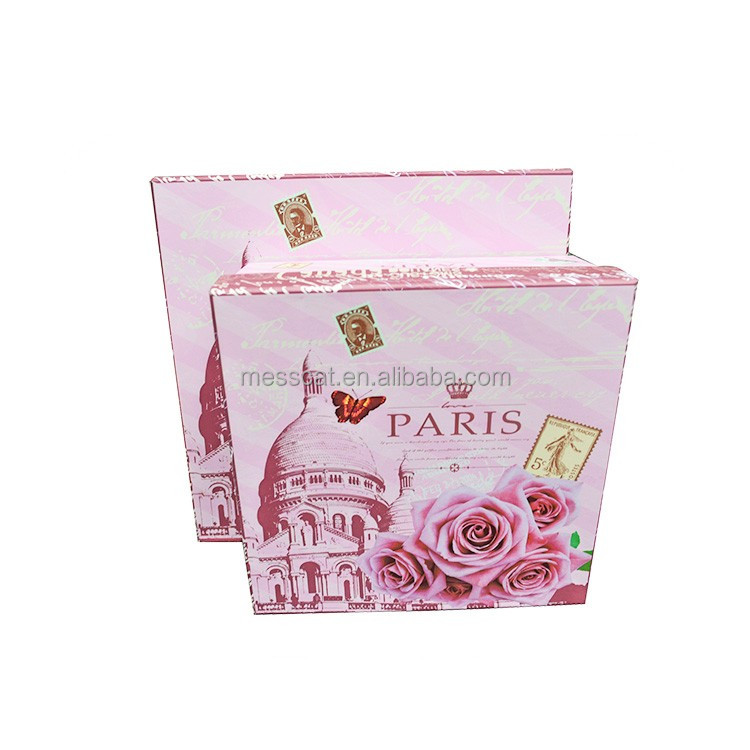 Albaba Ads Cosmetics Packaging Box With Lid