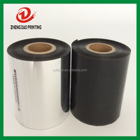 premium zebra thermal transfer enhanced printer wax ribbon