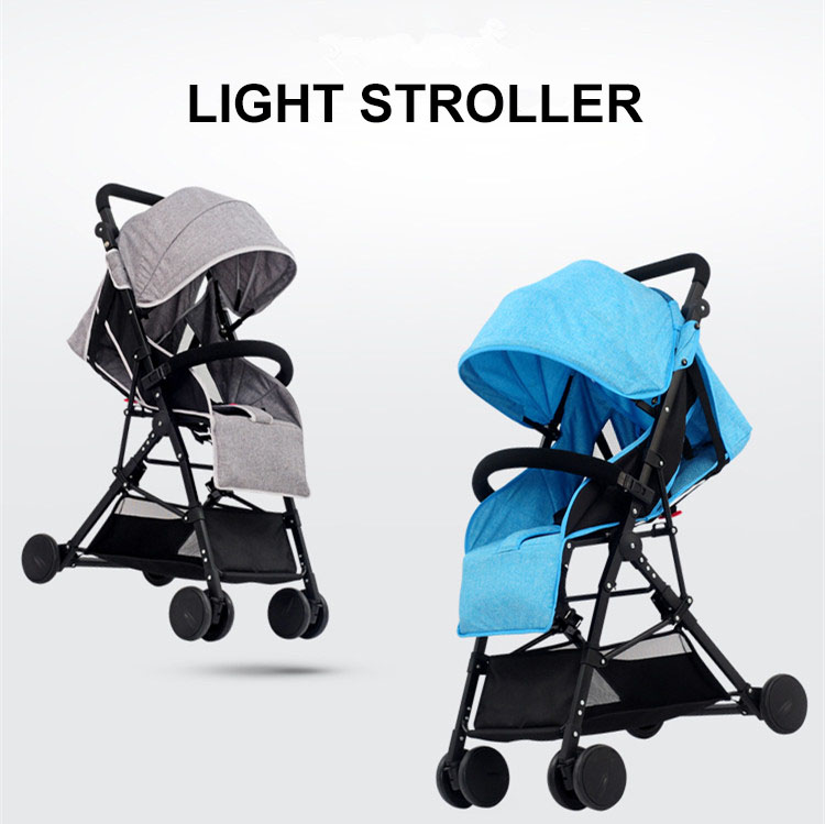 Comfortable linen febric baby trolley stroller child / baby buggy board