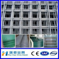 "1/2"" x 1/2"" Welded wire mesh panel/12.7mm x 12.7mm square hole size mesh panel"