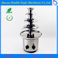 Factory supply commercial chocolate dipping machine/4 tiers chocolate spray machine for sale