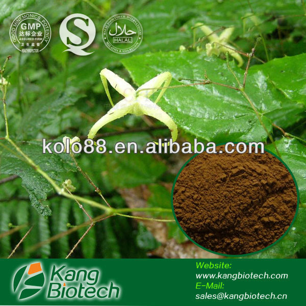 High Quality Icariin 50% 60% 80% 98% Epimedium Extract