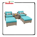 Sectional Furniture Outdoor Wicker Furniture Set With Cushion