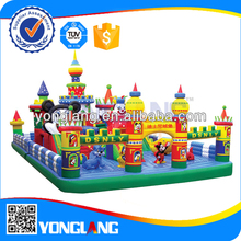 Fun house inflatable bouncer for kids for shopping mall