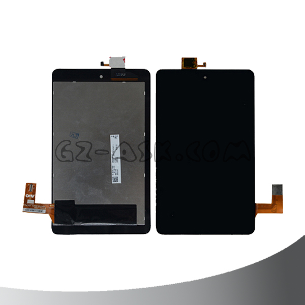 for dell venue 7 3740 lcd display and digitizer to Touch Screen Assembly tablet lcd replacement Black Color