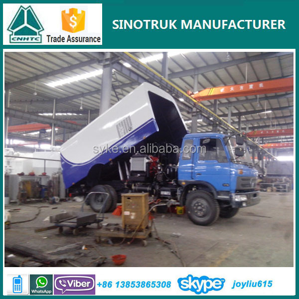 china supplier street sweeping truck for sale