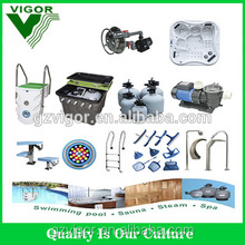 2016 Factory wholesale price full set cleanning and filter equipment used swimming pool for sale