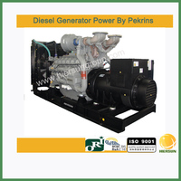 AC three phase output type Powered by perkins 1000kw/1250kva electrical generator