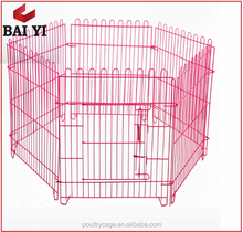 Chicken Wire Decorative Dog Fences With Low Price Wholesale(Made In China, metal wire dog cage)