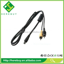 Camera USB cable for Canon AVC-DC400ST Stereo Rebel T2i T3i XUS115HS IXUS130 IXUS200 IXUS210 IXUS30 IXUS40 IXUS50 IXUS