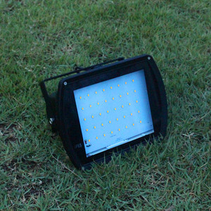Solar Powered Ultra Bright 7W LED Flood Spot Safety Lights with 40W solar panel JR-PB005
