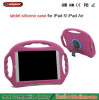 Children Shockproof Silicon Hard Case For iPad Air High quality Silicone for ipad 5 case, combo stand case for apple ipad air