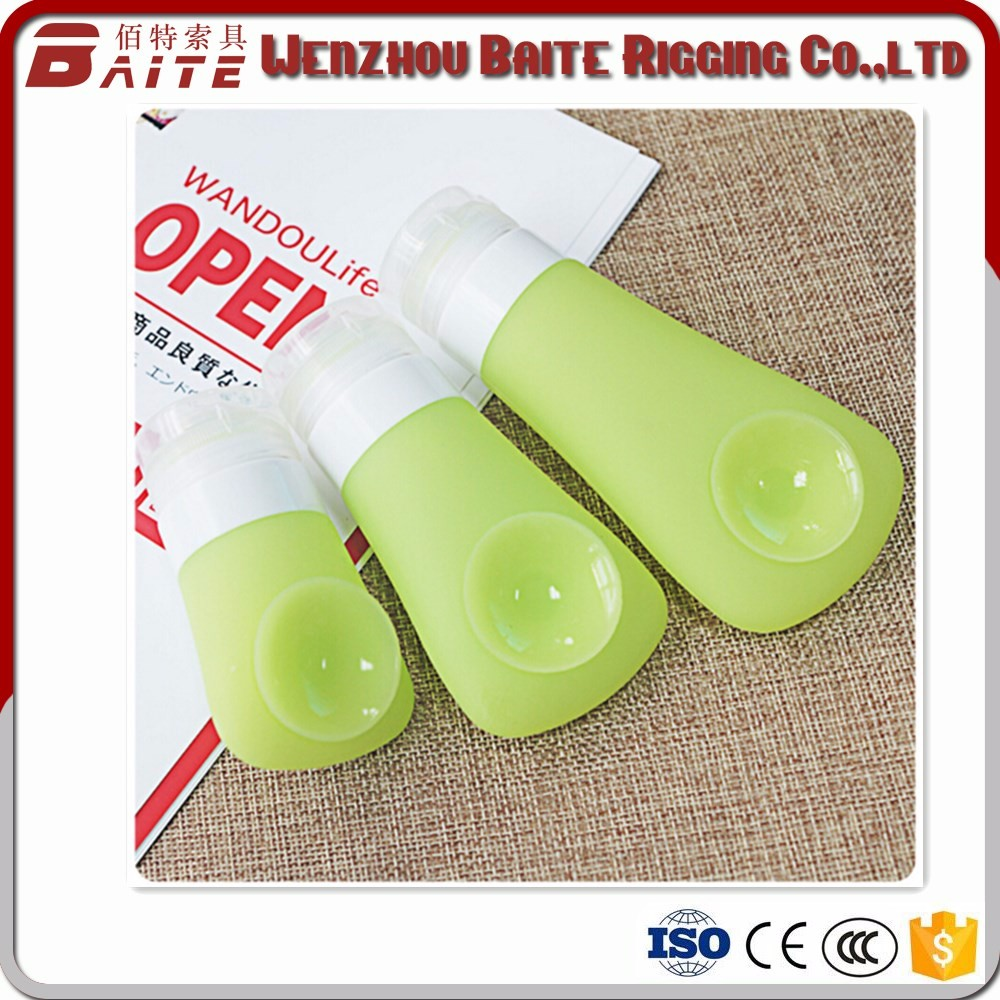 90ml Silicone Travel Packing Bottles, Refillable Cosmetic Containers Portable Owl Leak Proof Travel Toiletry Bottles Set