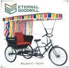 Hot sale adult tricycle/ Rickshaw/bicycle/rickshaw for passangers /pedicab TC93 for customers