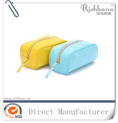 New style hot sell pu leather nail polish cosmetic bags