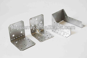 good quality light duty electrical galvanized adjustable steel corner bracket for construction(factory)
