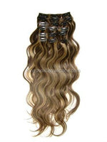 Best Feedback two tone curly 100 brazilian virgin human hair weft extension