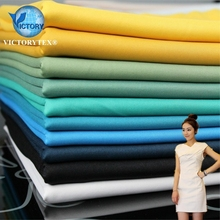 Polyester Rayon Spandex Ponte De Knitted Stretch Punto Roma Fabric for Dress Sportswear Garment