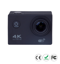 OEM Mini Cube RoHS 4K Ultra HD Sport Action Camera with Remote Control