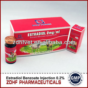 Veterinary China Estradiol Benzoate Injection