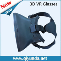 2015 New Model 3d Vr Black Virtual Reality Glasses 4-7 Inches (High Quality, Adjustable, Comfortable)
