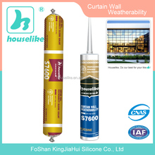 High performance curtain wall weather proof silicone sealant S7600