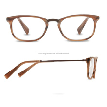 Custom-made Color Acetate Frame Material slender eyes reading glasses