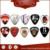 Various Kinds of Promotional High Quality Custom Guitar Pick/Plectrum with band logo
