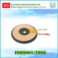 customized magnetic induction charger/ROHS qi wireless charging coil