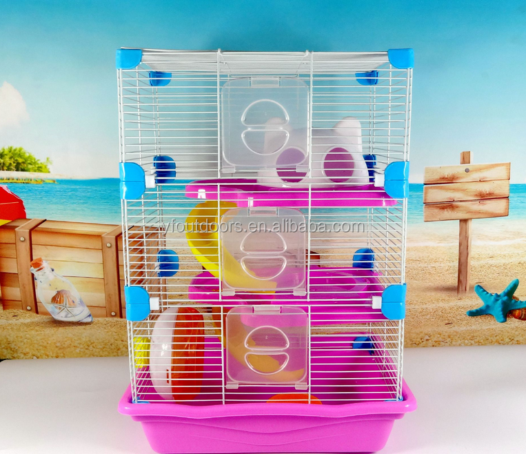 Beautiful small animals habitat breeding for hamster cage