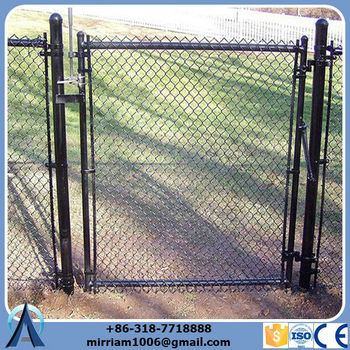 High Quality used chain link fence installation