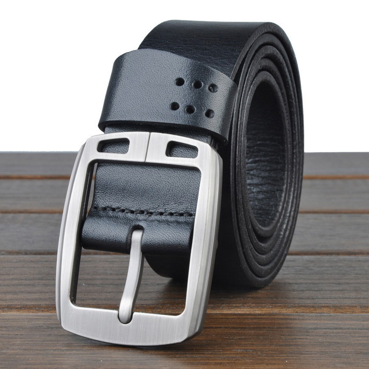 Men's high-quality stainless steel buckle belt