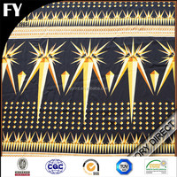 Factory reliable quality custom african print cotton fabric
