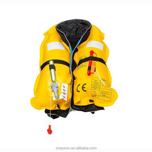 automatic inflatable fabric gas cylinder for life jacket