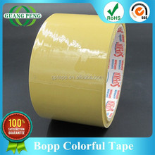 Best Offer Custom Color Strong Adhesive Acrylic Glue Bopp Green Tape for Carton Sealing, SGS/RoSH Approved