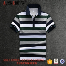 Top Sale Plain Heavy 100% Cotton Short Sleeve Custom Logo Men Polo Shirt