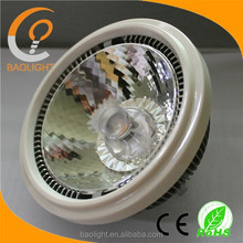 Factory directly 12W 15W high lumen cob dimmable led lamp gu10 led AR111,12v g53 AR111 led