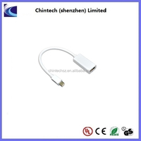High Performance Mini DisplayPort Male to HDMI Female Adapter Cable
