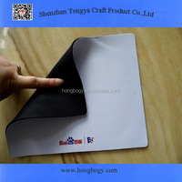 Blank rubber mouse pad for sublimation
