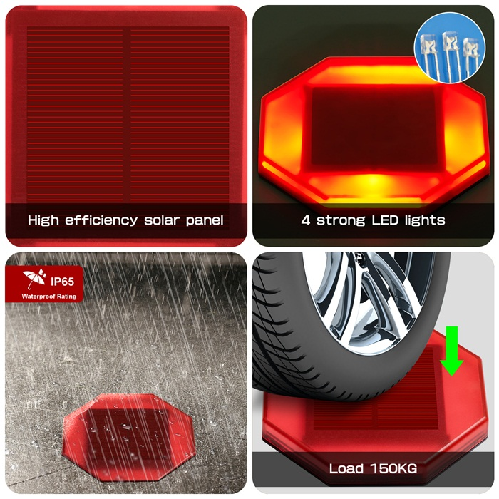 Outdoor Waterproof Good Quality Recessed LED Solar Stair Step Light