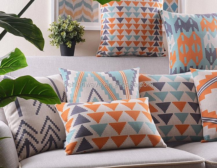 wholesale popular sofa seat bolster rectangle cushion