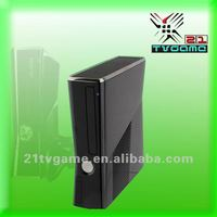 Complete video Game console shell For XBOX 360 housing case black replacement case