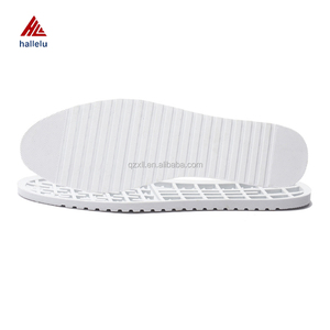 High Quality White Rubber Student Flat Shoe Soles Newly Designed Full Size Range Non-Slip Casual Shoe Soles