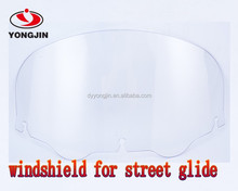 Motorcycle accessories clear windscreen for street glide harley 96-13