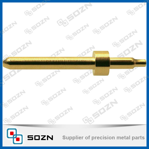 OEM electrical solid power brass plug insert pin