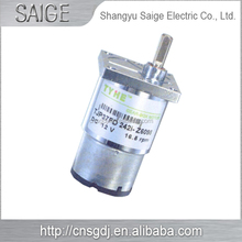 High torque low noise planetary geared dc motor