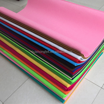 1mm 2mm 3mm thickness 100% colourful wool felt sheet