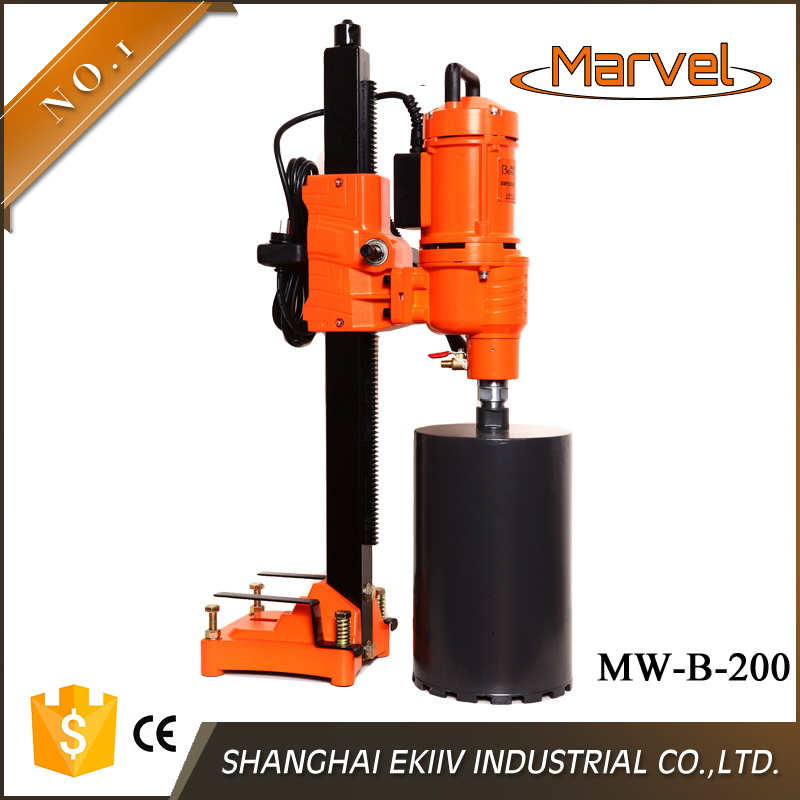 MW-B-200 200mm stepless speed regulation strong power radial dril machine